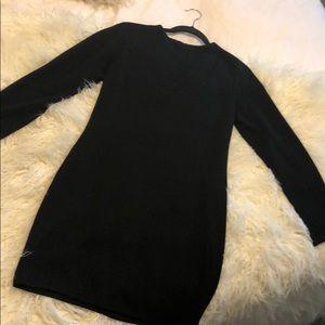 Zara mini black dress